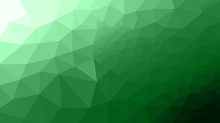 abstract green polygon photo design frome illustration for background.