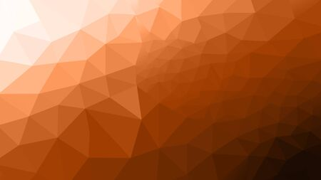 abstract brown polygon photo design frome illustration for background.