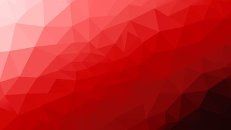 abstract red polygon photo design frome illustration for background.