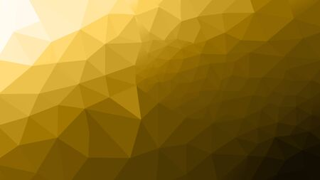 abstract yellow polygon photo design frome illustration for background.
