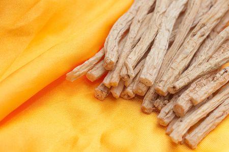 Codonopsis pilosula,Rare Chinese herbal medicine Standard-Bild