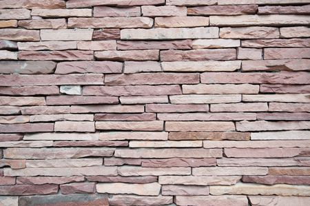 The red stone walls, beautiful texture