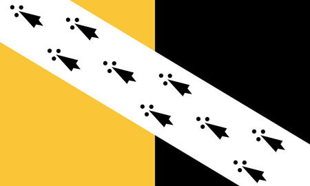 The historic flag of Norfolk