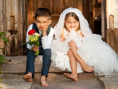 Children Love Couple
