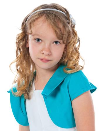 childchood: Portrait of a beautiful young girl