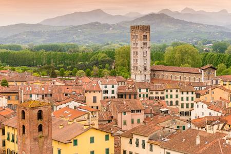 Lucca Tuscany Italy