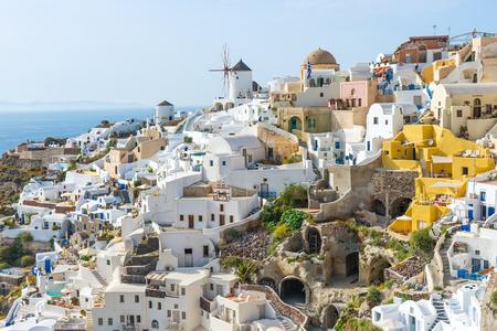 oia: Oia town Santorini island Greece