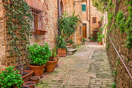 old town: Old town Tuscany Italy
