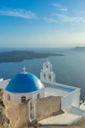 Santorini landscape, Island, Greece Reklamní fotografie