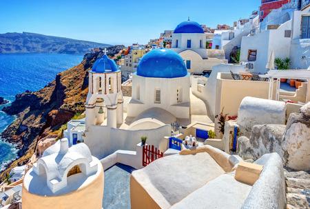 Santorini Island Greece Town Oia