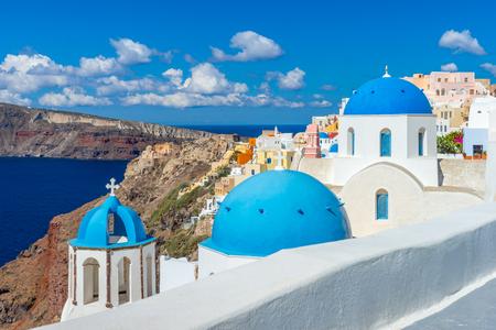 Landscape Santorini Island, Oia, Cyclades, Greece
