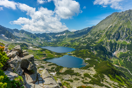 Tatry, Dolina Pi?ciu Stawów Polskich, Pejza? górski