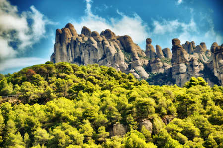Mountain range in Spain Odena