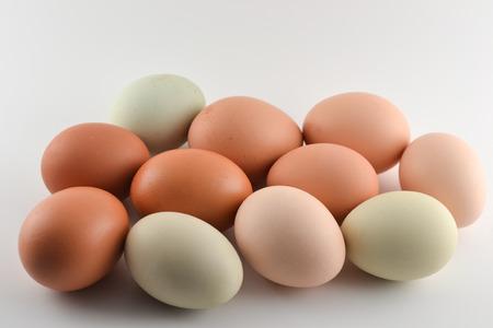 farm fresh: Farm fresh eggs Stock Photo