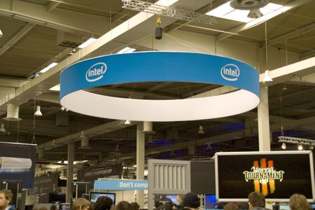 Intel on Cebit 2010 in Hannover, Germany