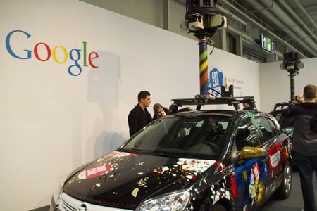 Google Street View Car on Cebit 2010 in Hannover, Germany