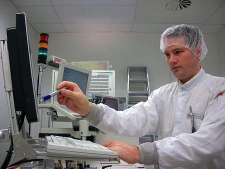 Operator of the measuring station photo