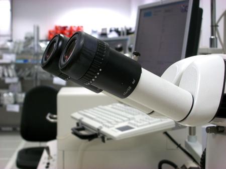 Stereomicroscope eyepieces Stock Photo - 8534864