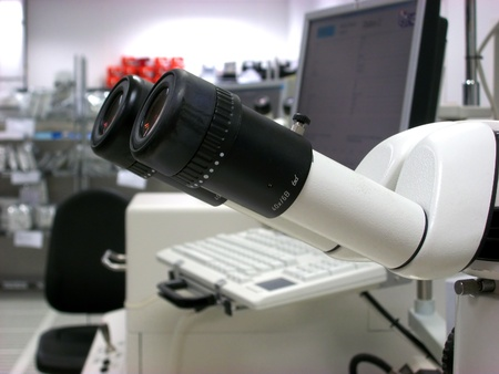 Stereomicroscope eyepieces Stock Photo - 8534864