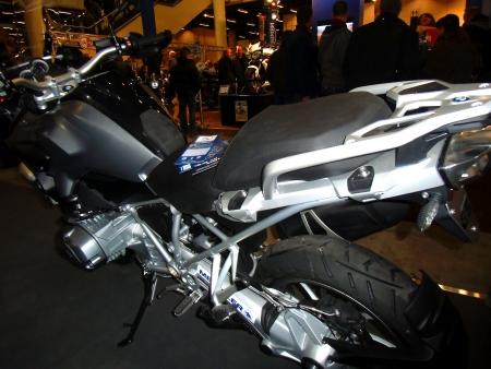 HAMBURG, GERMANY - JANUARY 26: the motorbike  on January 26, 2013 at HMT (Hamburger Motorrad Tage) expo, Hamburg, Germany. HMT is a large motorcycle expo
