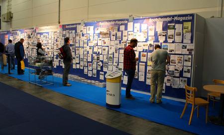 HAMBURG, GERMANY - OCTOBER 31: Hanseboot Expo on October 31, 2014 at Hanseboot - the international boat show, Hamburg, Germany. Editorial