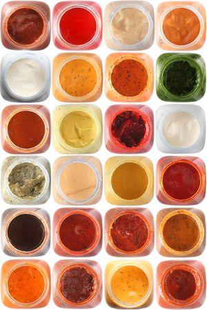 set souses and marinades