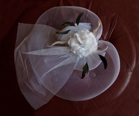 white women of the cloth hat with a veil