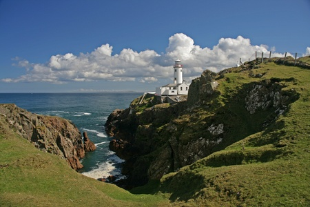lighthouse Fanad Head - Ireland photo