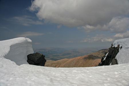 snowdrift: Snowdrift Stock Photo