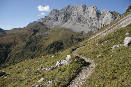 hillwalking: Mountain panorama Kirchlispitzen