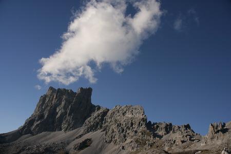 Mountain panorama Kirchlispitzen photo