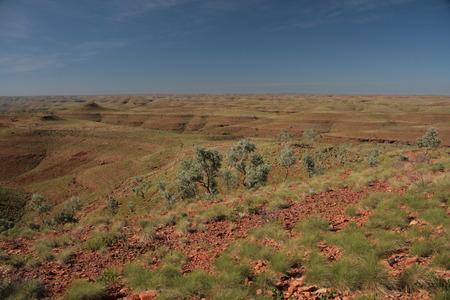 hassock: landscape australia Stock Photo