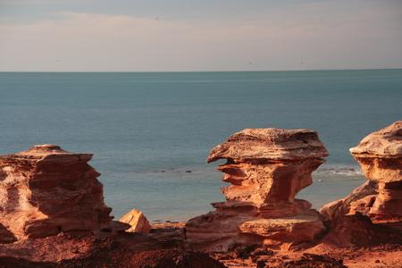 rock formation: rock formation - Broome - Australia