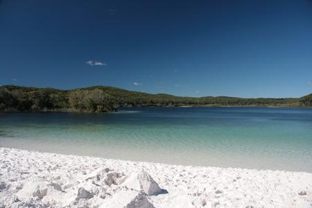 fraser: Lake McKenzie - Fraser Iceland - Australia Stock Photo