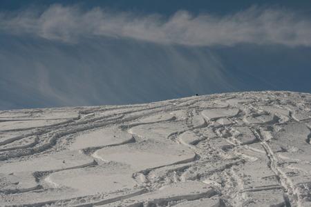 wag: ski tour Stock Photo