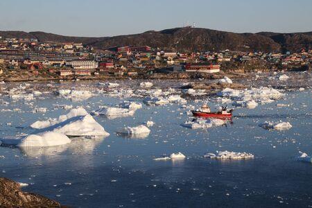 Drifting iceberg - Greenland