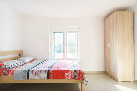 guest house: Interior of a bedroom in a guest house