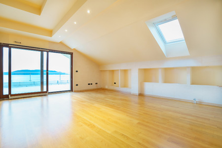 penthouse: Empty room of the new penthouse