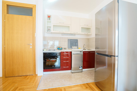 guest house: Interior of a  kitchen in a guest house
