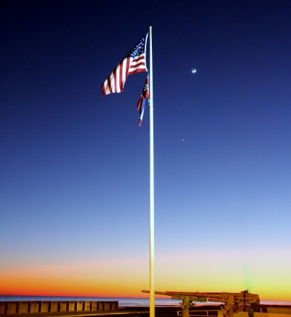 Summer Flags Flying photo