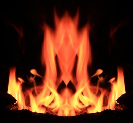 Flaming Demons