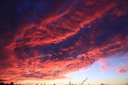 Evening Clouds of Autumn 版權商用圖片