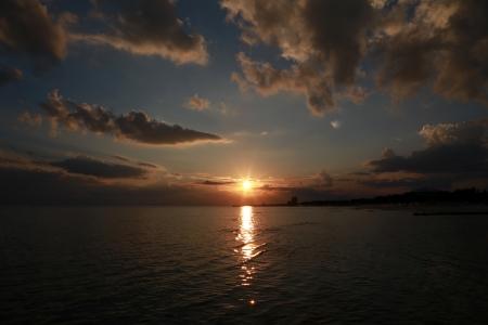 Sunset on the Gulf Imagens