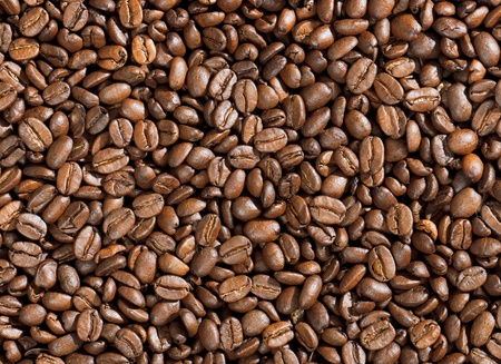 high quality roasted coffee background Stock Photo