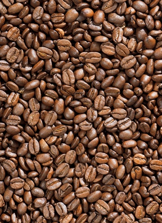 caffeine free: high quality roasted coffee background Stock Photo