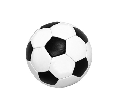 soccer (football) ball isolated on white photo