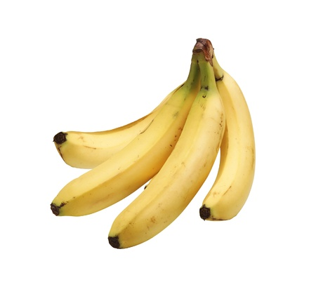 Bunch of bananas isolated on white background Stock Photo - 17859706