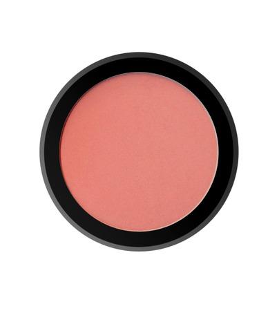 blush: face powder blush isolated on white background