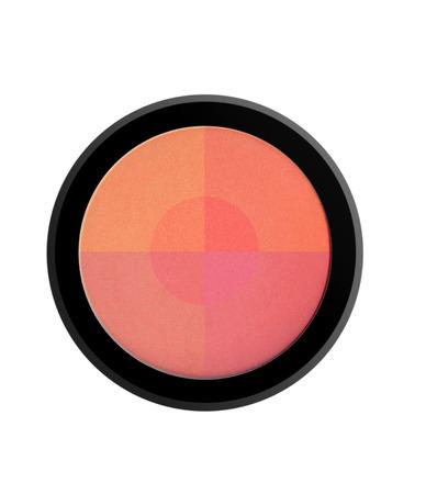 face powder blush isolated on white background 版權商用圖片