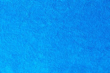 textura: Struttura di un telo di cotone blu come sfondo